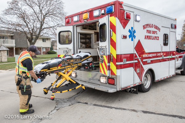 Stryker ambulance cot with Power Load
