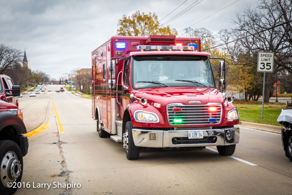 Buffalo Groe FD Ambulance 26 Freightliner M2 ambulance
