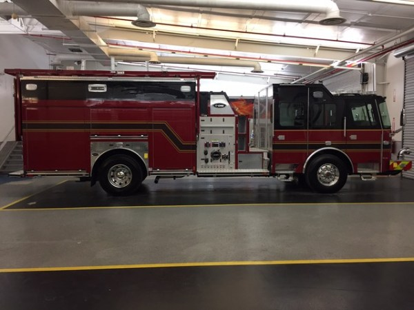 new fire engine for Buffalo Grove