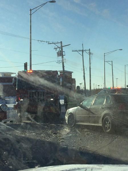 fire truck crash