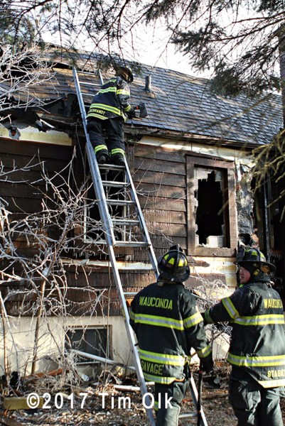 house fire in Ingleside