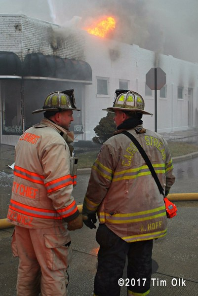 Carol Stream Fire Chief Robert Hoff