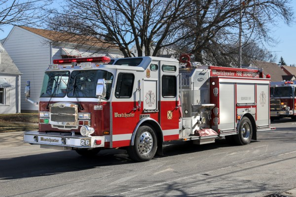 Westchester FD fire engine
