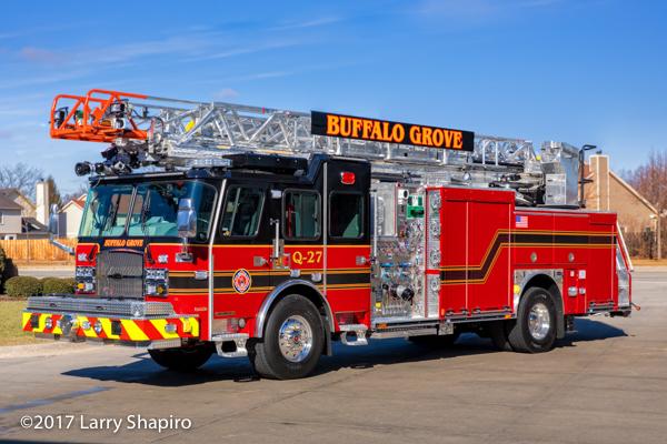 Buffalo Grove FD Quint 27