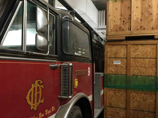 ALF 100' Aerial Hook and Ladder 9 of Chicago Fire Department for sale