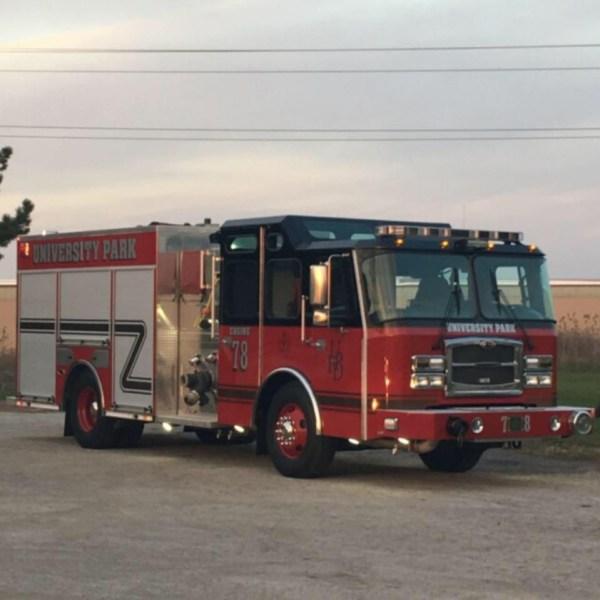 University Park fire engine