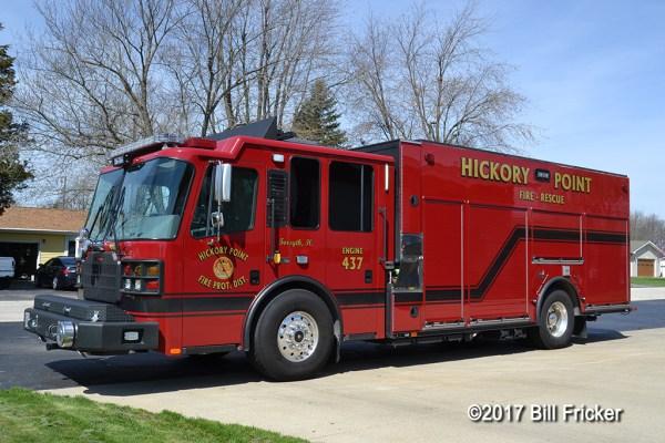 Ferrara MVP fire engine