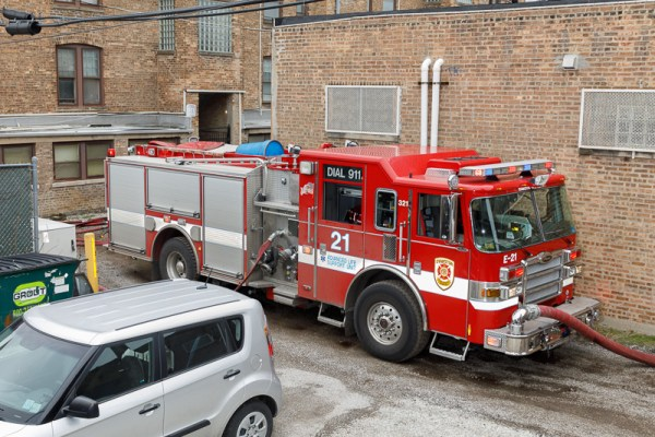 Evanston FD Engine 21