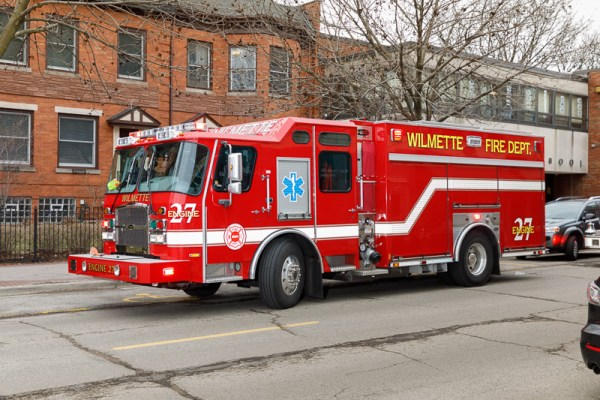 Wilmette FD Engine 27