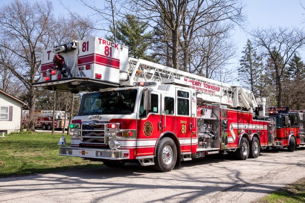 McHenry Township FPD fire truck