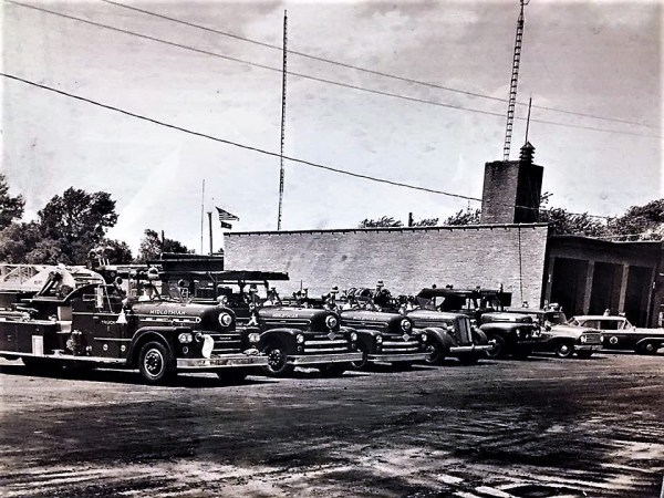 Midlothian Fire Department history