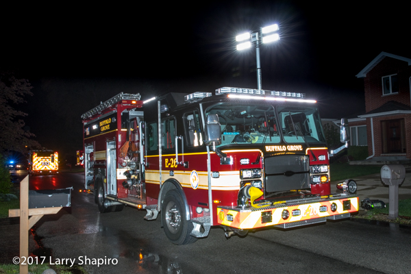 Buffalo Grove FD Engine 26 E-ONE Typhoon
