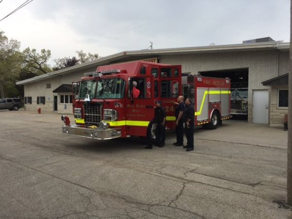 New fire engine for the Fox Lake Fire Protection District