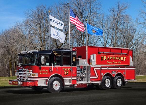 Frankfort FPD Engine 73