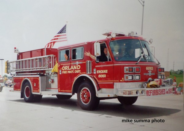 Orland FPD American LaFrance fire engine