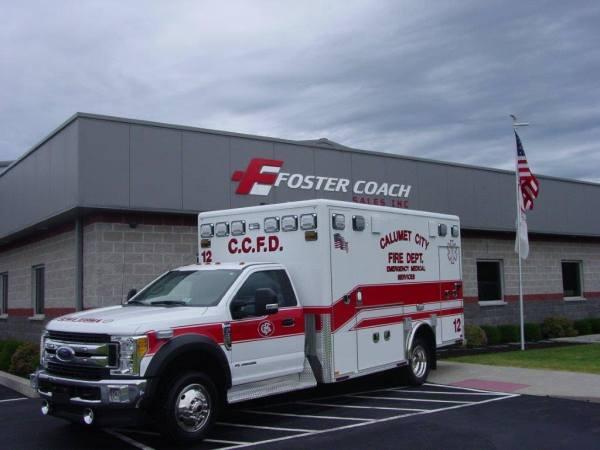 Calumet City FD ambulance