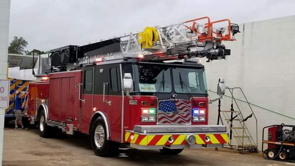 new fire truck for the Schiller Park FD