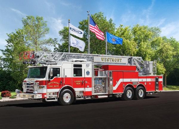 Westmont FD fire truck