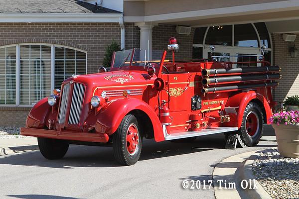 Comstock FD antique fire engine