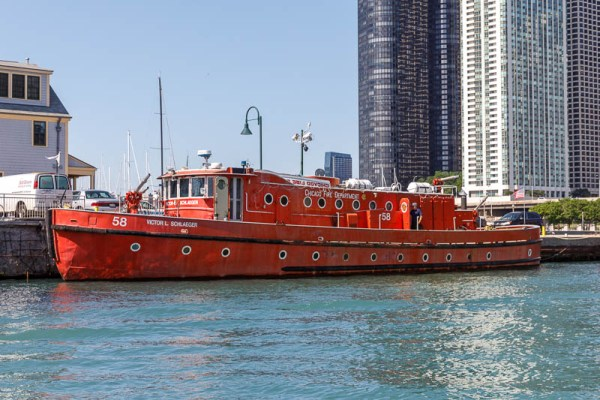 Chicago Fire Boat Engine 58
