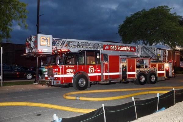 Des Plaines FD Truck 61
