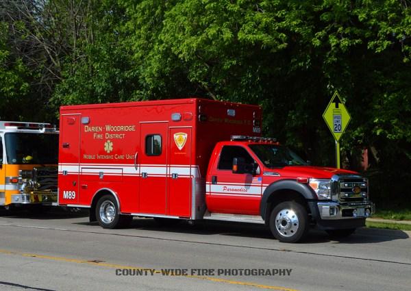 Darien-Woodridge FPD Medic 89