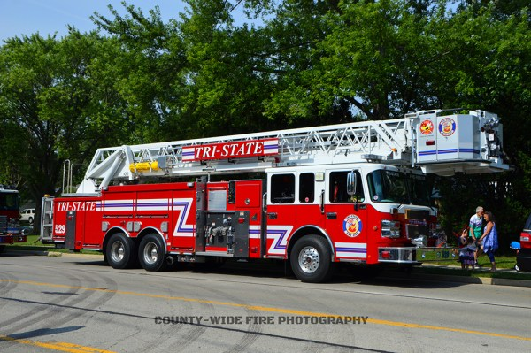Tri-State FPD Tower Ladder 529