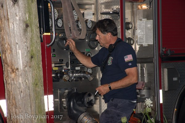 Chicago firefighter pump operator