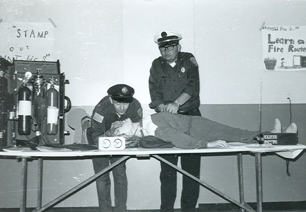 early CPR demonstration