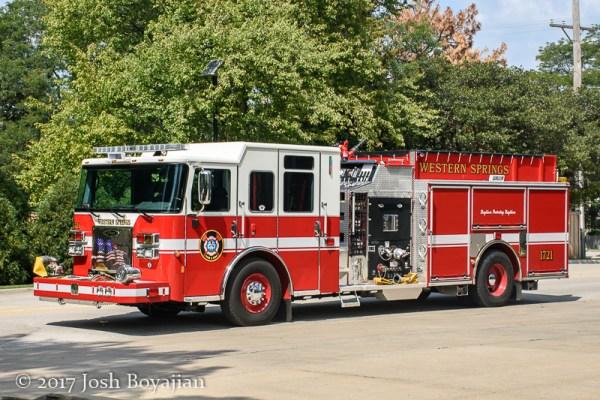 Western Springs FD Engine 1721