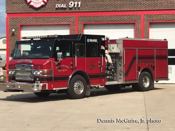 Schiller Park FD Engine 5