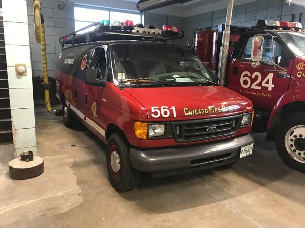 Chicago FD Jump Bag Rescue Unit 561