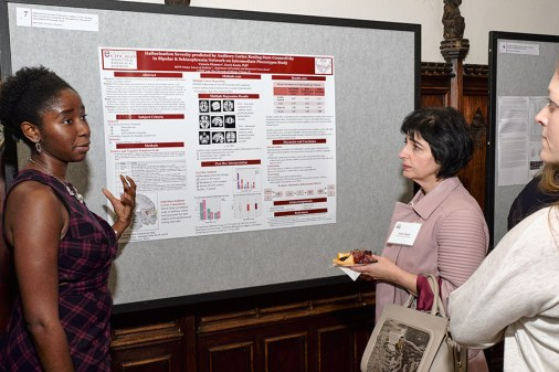 Interactive poster session