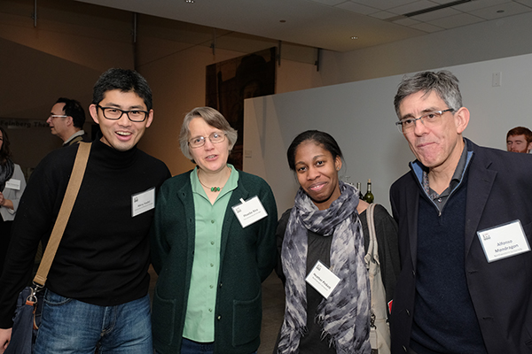CBC researchers (from the left): Akira Yoshii (UIC), Phoebe Rice (UChicago), Heather Pinkett and Alfonso Mondragon (NU)