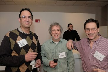 CBC researchers (from the left): Eduardo Perozo, Jon Staley and Tobin Sosnick (UChicago)