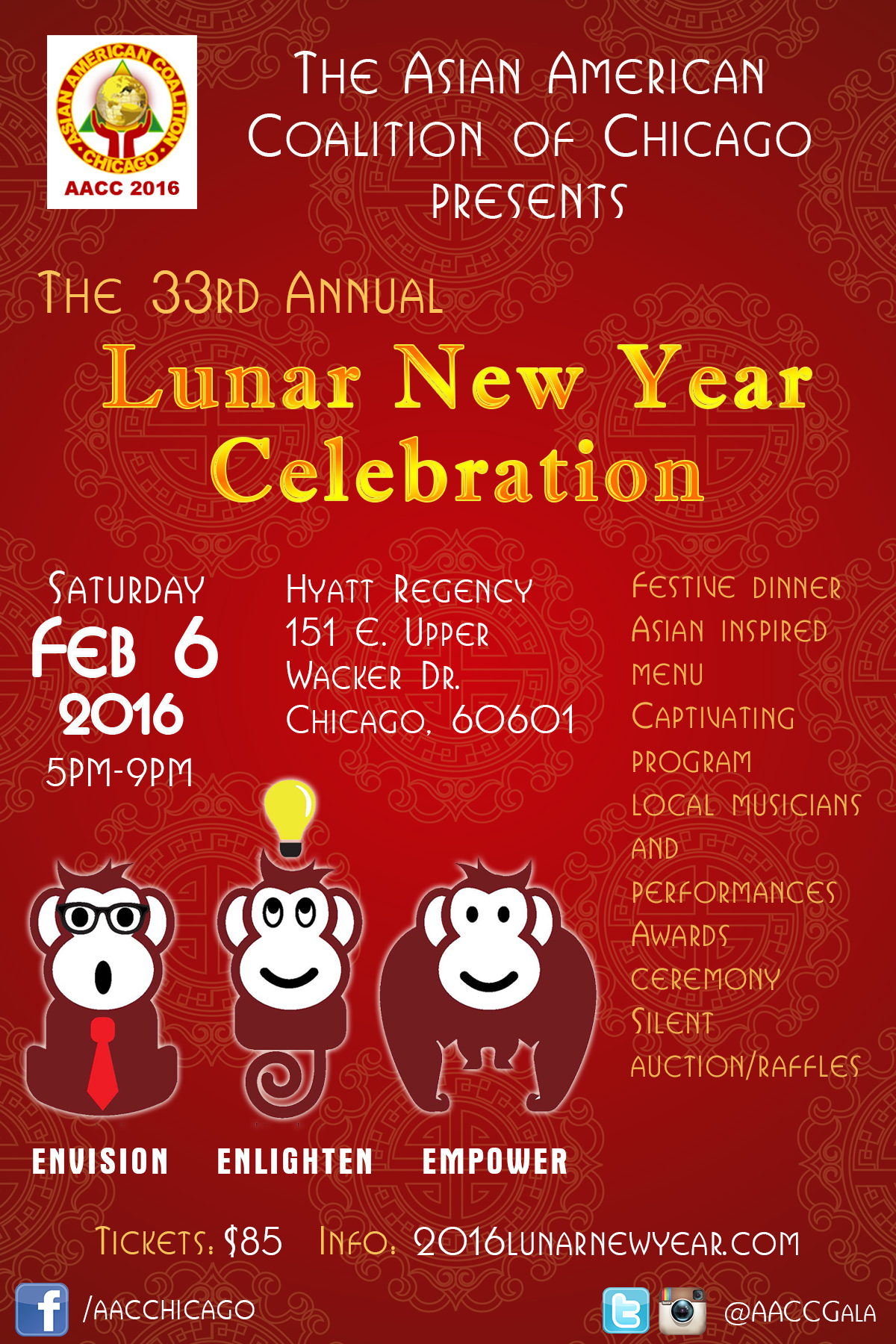 33rd Annual Asian American Coalition Of Chicago Lunar New