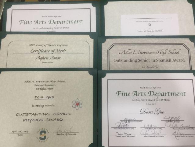 图片5--多多获得各种比赛证书
