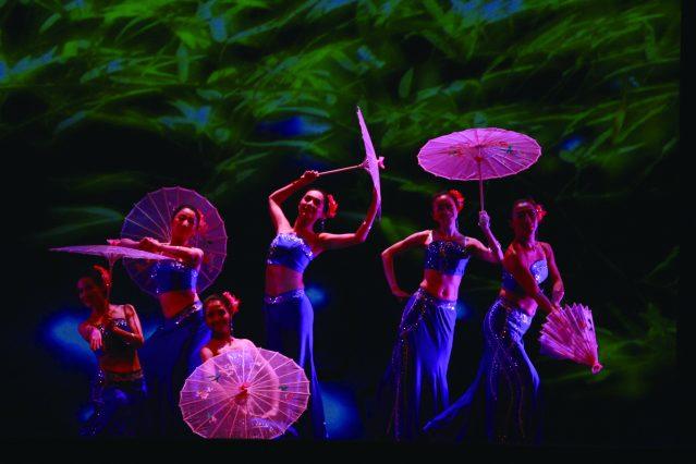 5.舞之林成員帶來《傣家女兒傣家雨》