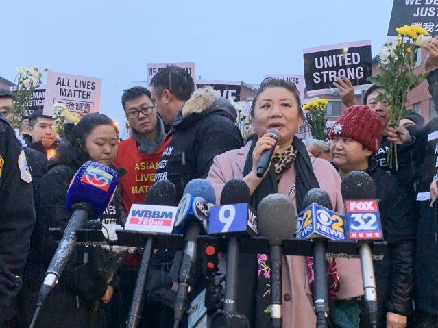 12.美國東北華人協會會長劉燁呼籲大家伸出援手幫助兩位遇害者家屬處理後事