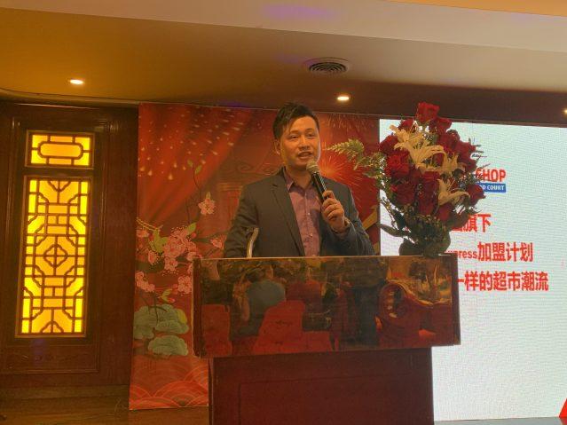 8.南華埠香港超市Canal分店經理Tony向大家講述未來發展規劃