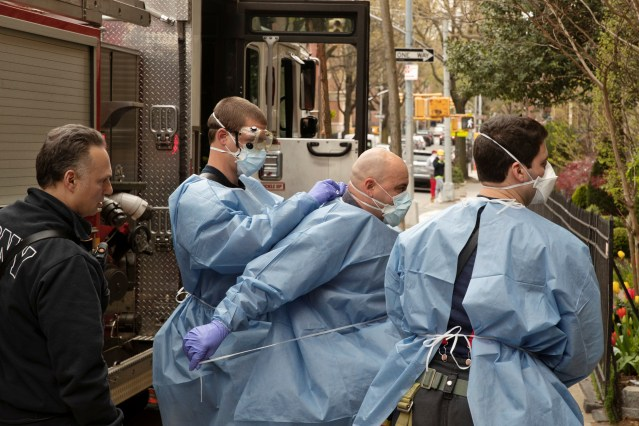 Coronavirus disease (COVID-19) outbreak, in New York