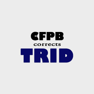 CFPB TRID fix rule prepaids taxes insurance association dues