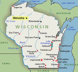Menusha:  If it's not a city in Wisconsin, what is it?