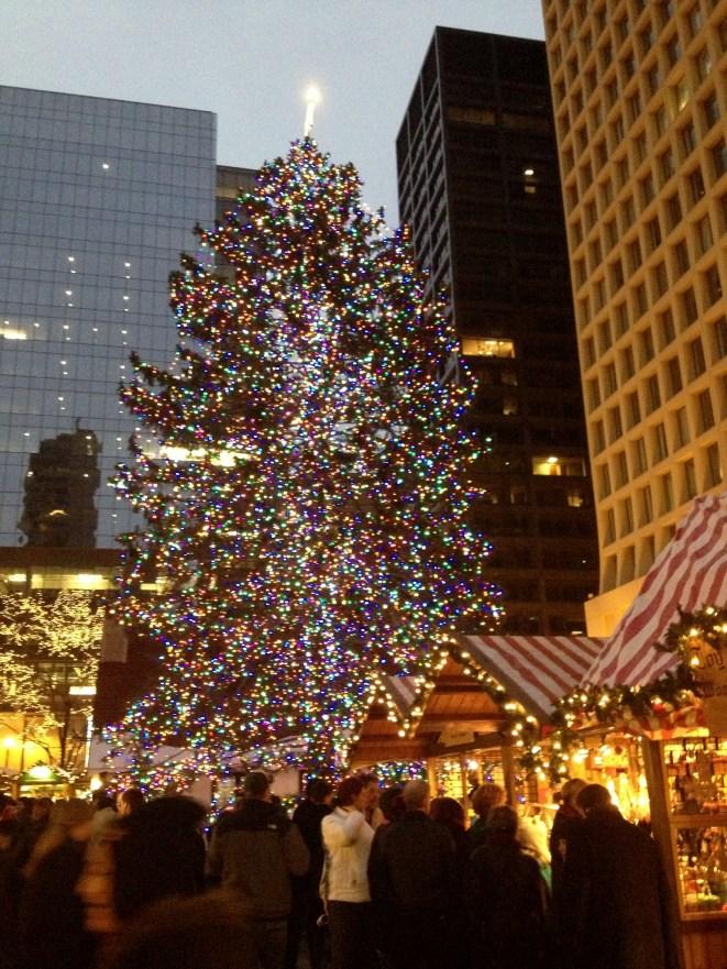 Chicago Christmas Tree at Christkindlmarket