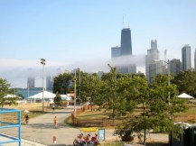 View from North Avenue Beach, Chicago