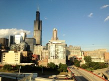 View from Greektown, Chicago