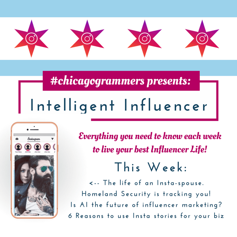 Intelligent Influencer: April 8, 2018