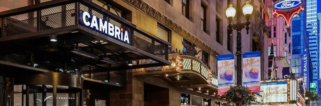Cambria Chicago Loop Hotel