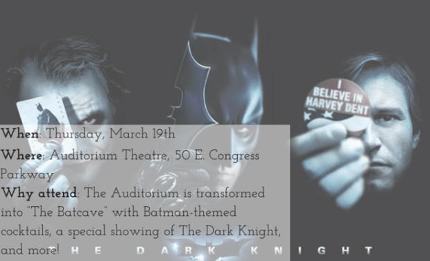 Auditorium Theatre Dark Knight