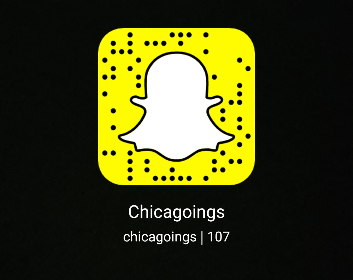 Chicagoings on Snapchat